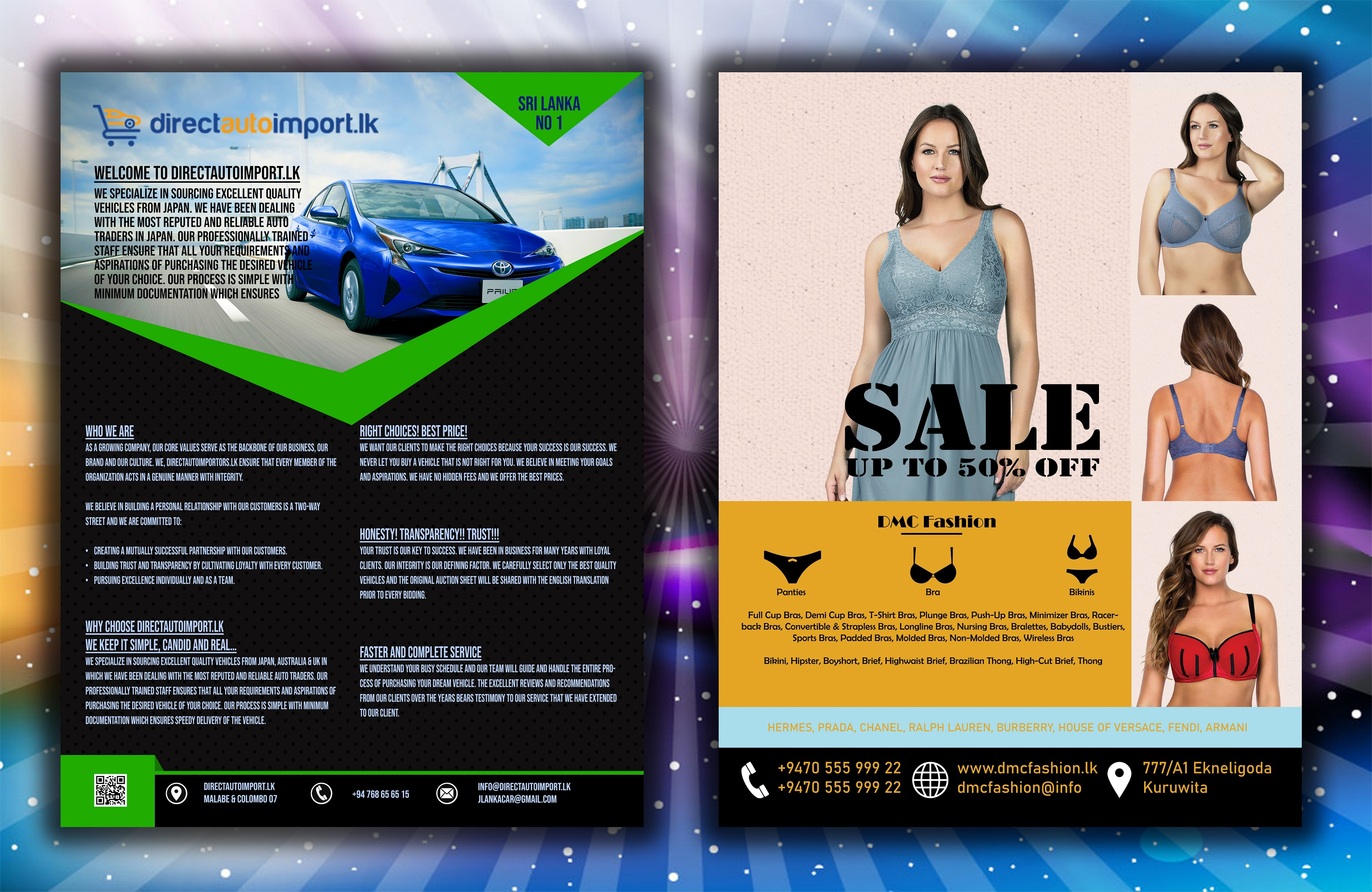 I will design professional and creative flyer, brochure