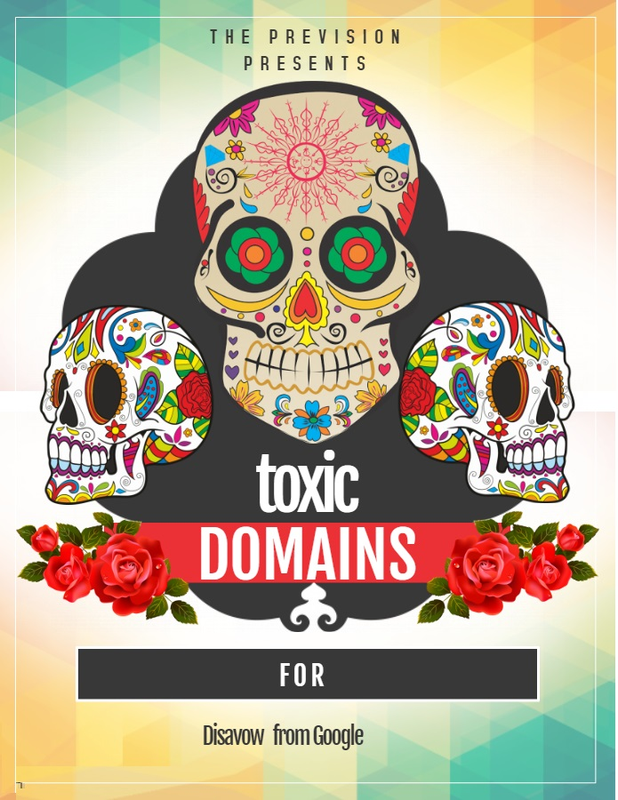 List of Toxic backlinks for Disavow from Google