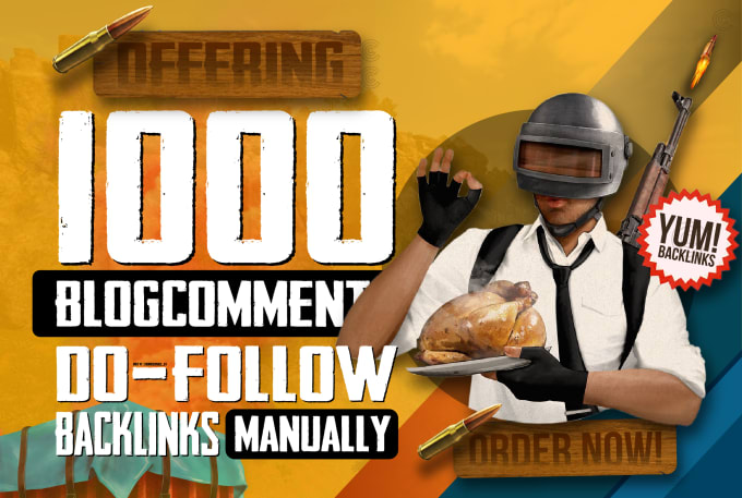 I will do 1000 do-follow blog comments backlinks with high da pa