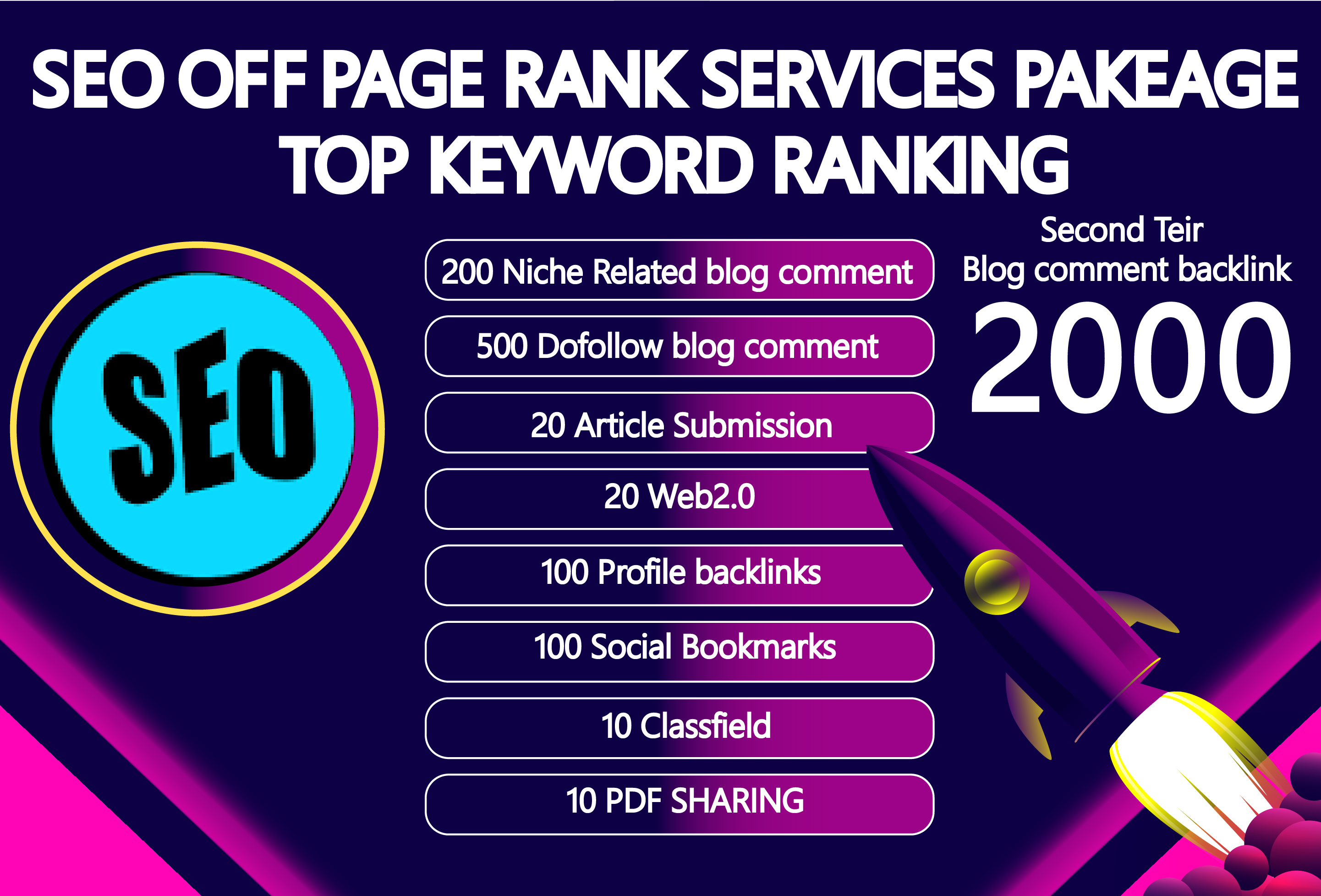 Rank Your Website on Google,  15 Days SEO Backlinks Manually