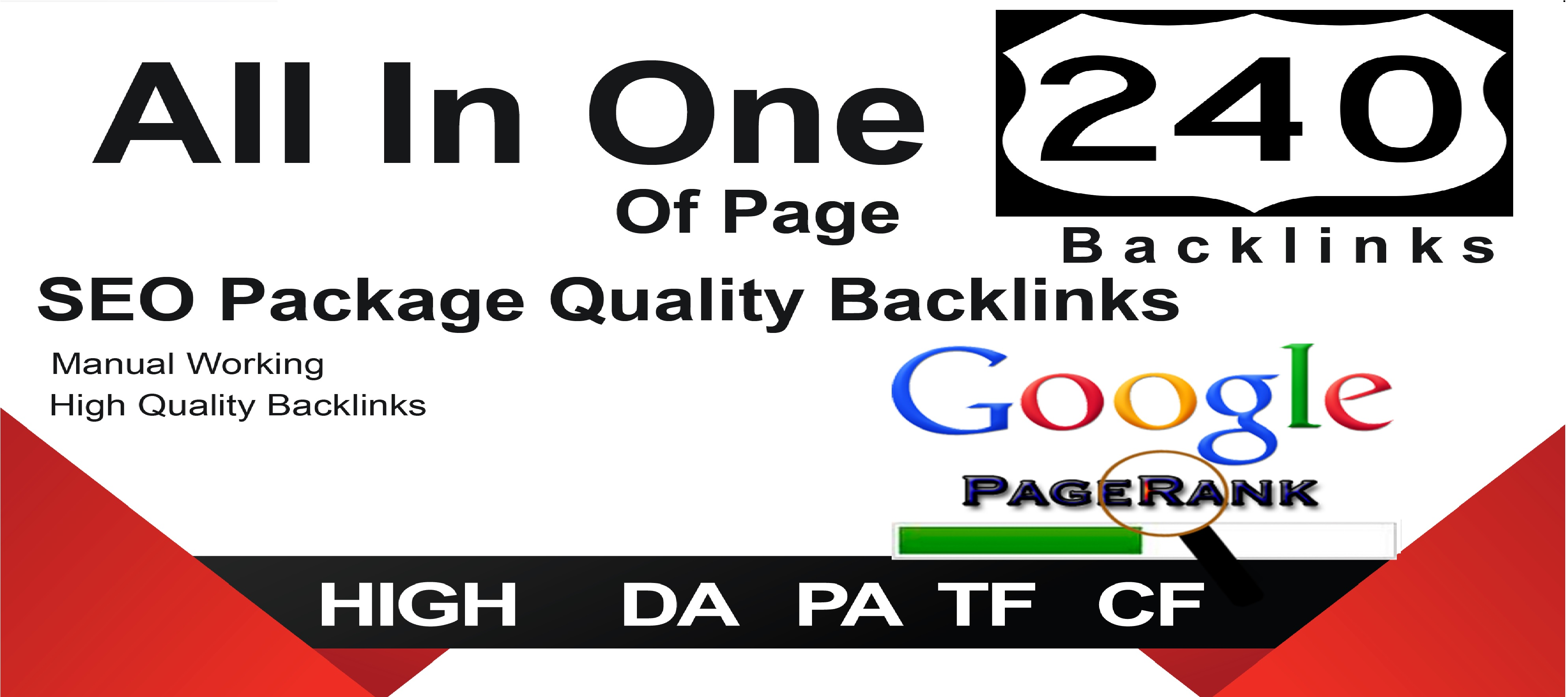 All In One Off-Page Seo Package Get 240 Quality Backlinks