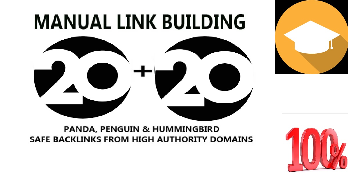 I will create 20 edu,  gov high DA SEO authority backlinks