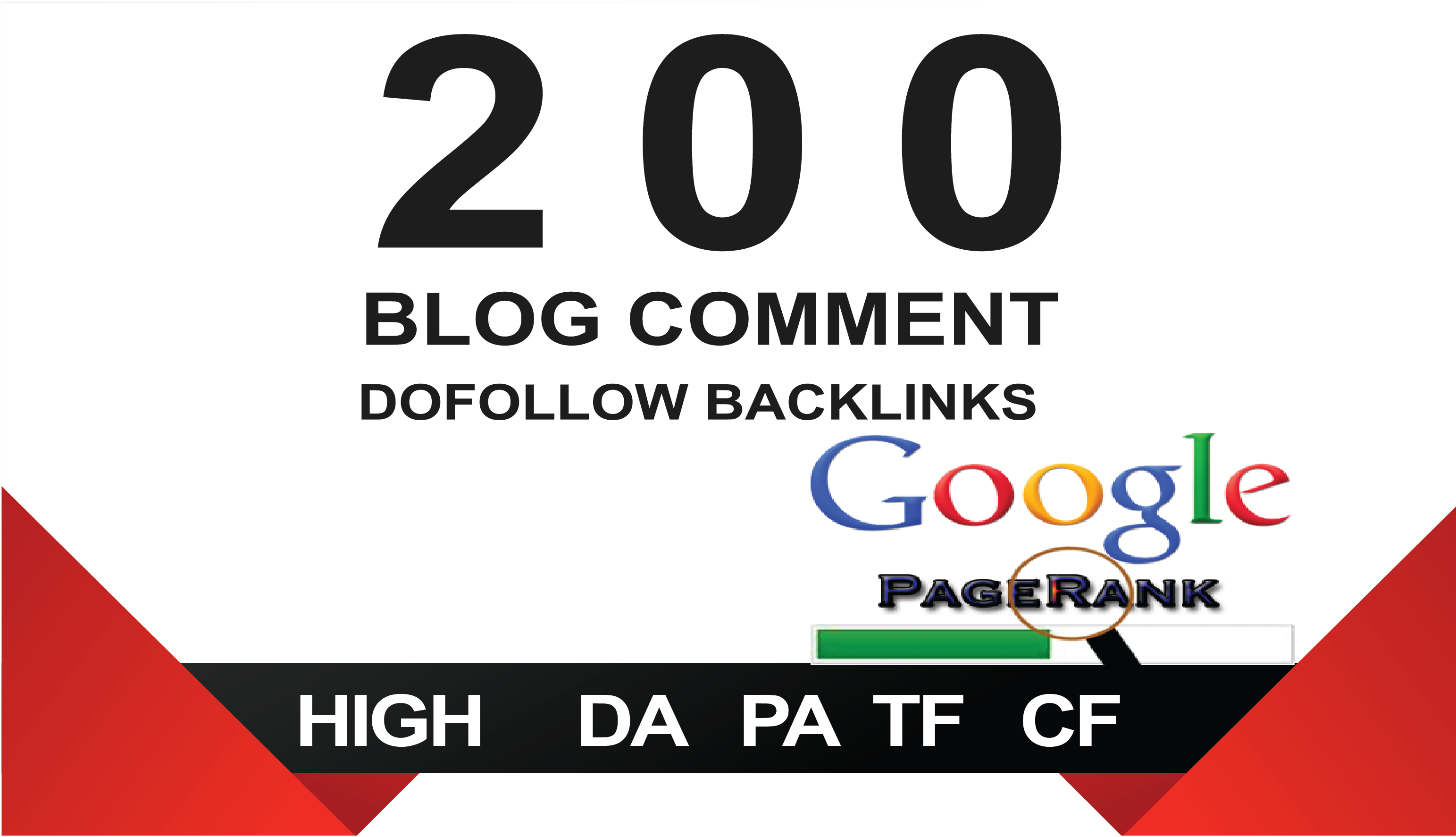 I will submit 200 high authority do follow backlinks