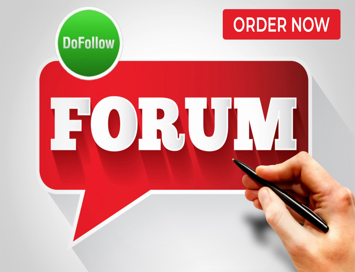 Manually create 250 Do Follow Forum Profiles Backlinks Best for Your SEO