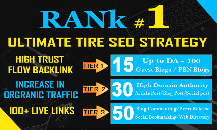 I will best tier manual link building architecture, boost your website ranking