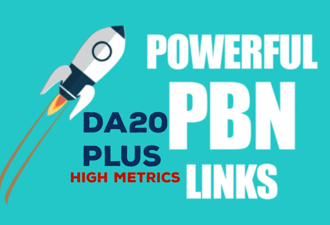 Home Page 500 Powerful PBN Backlinks Permanent High DA20+ Links Website Google Ranking Page. 1