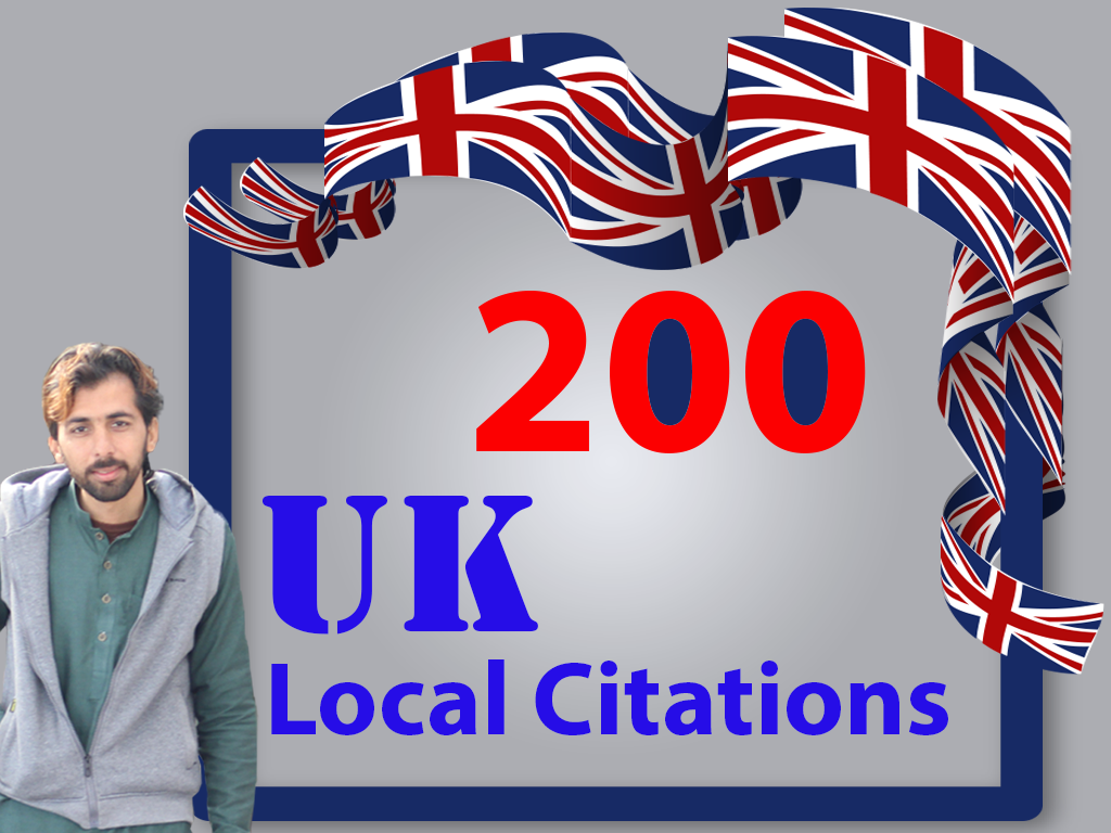 I will create best 200 UK local citations