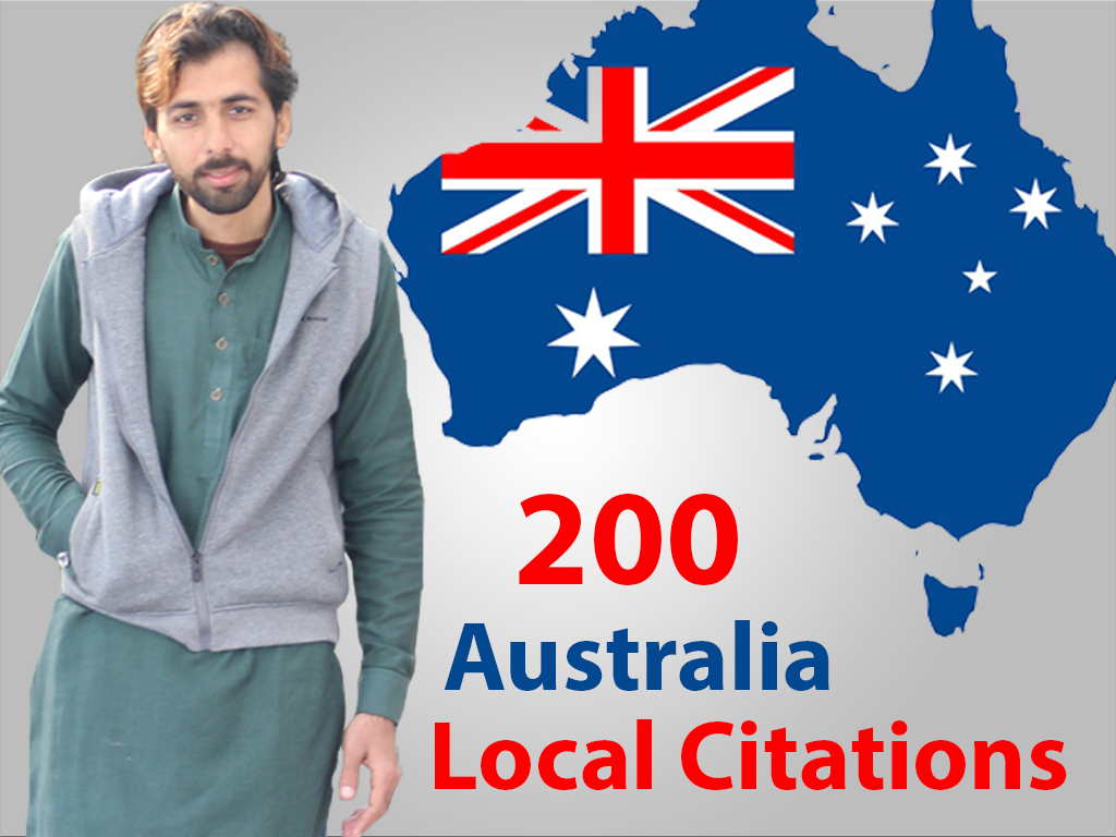 I will create 200 best australia local citations
