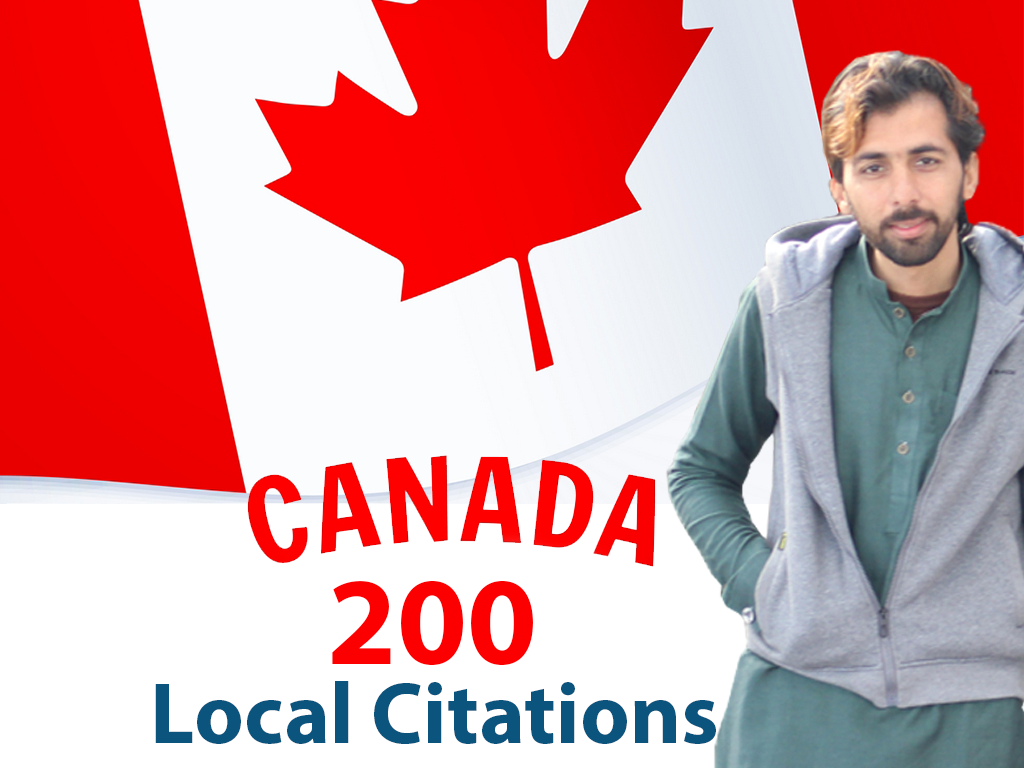 I will do 200 best canada local SEO citations