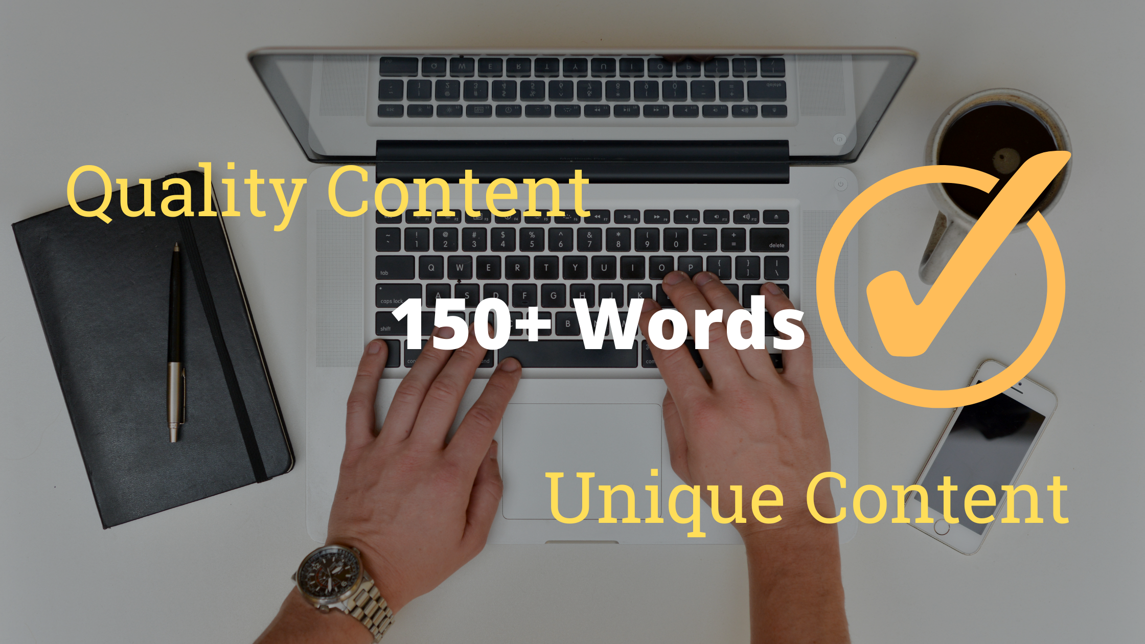 Write 150+ Words Unique and Great Quality SEO Article For You