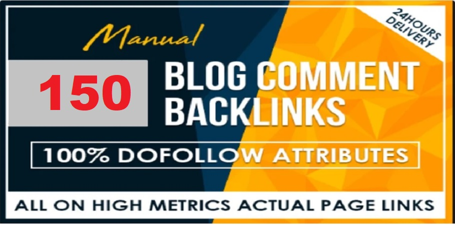 Super fast boost site with 150 blog comments Dofollow backlinks in cheap prices