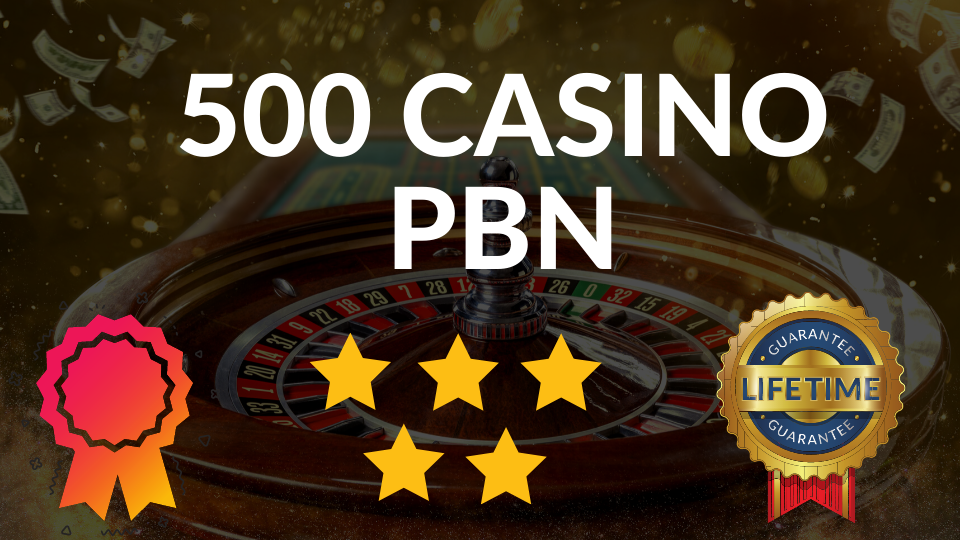 Top quality 500 CASINO/ Poker/Gambling Web 2.0 PBN in unique 500 sites