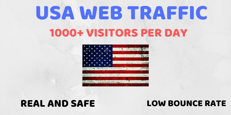 i will send high quality web traffic for one month