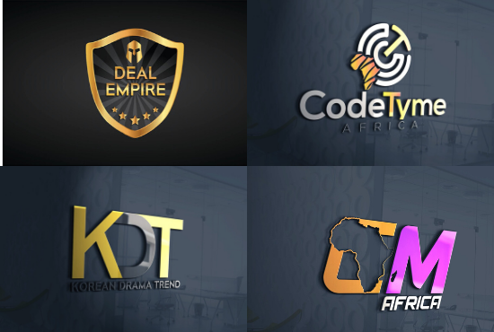 i will design an eye catching logo in 24 hrs with free revision