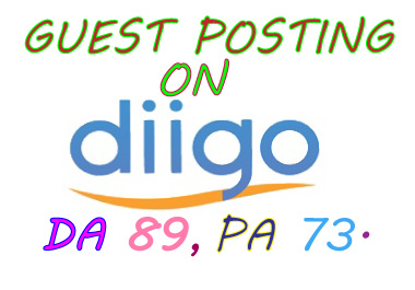 I will write your article and publish a guest post on diigo. com or Diigo