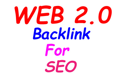 I will provide you 15 web 2.0 Backlinks for SEO.