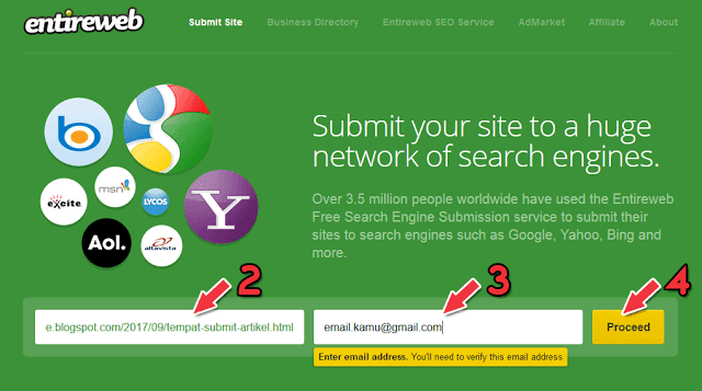 Submit your site to over 300 SEO sources and ping it professionally