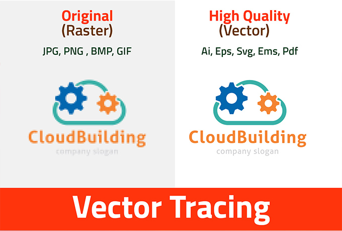 I will convert your sketch to vector ai,eps,svg,pdf