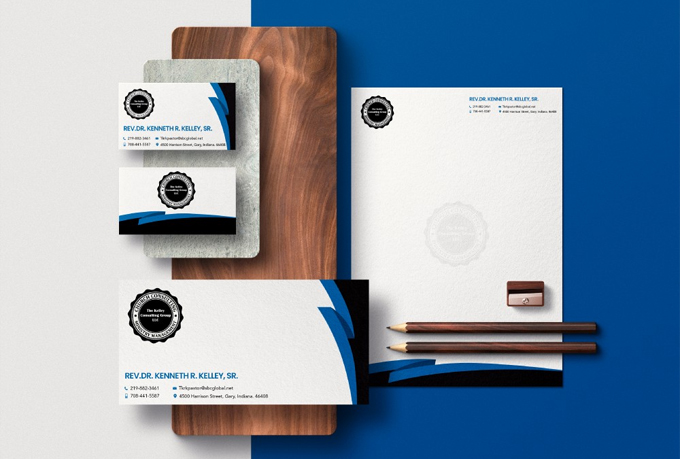 I will design amazing logo and professional brand identity design