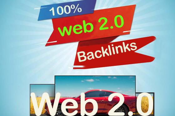 provide 500 web 2 0 backlinks manually