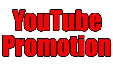Youtube Promotion- Optimize your youtube chanl