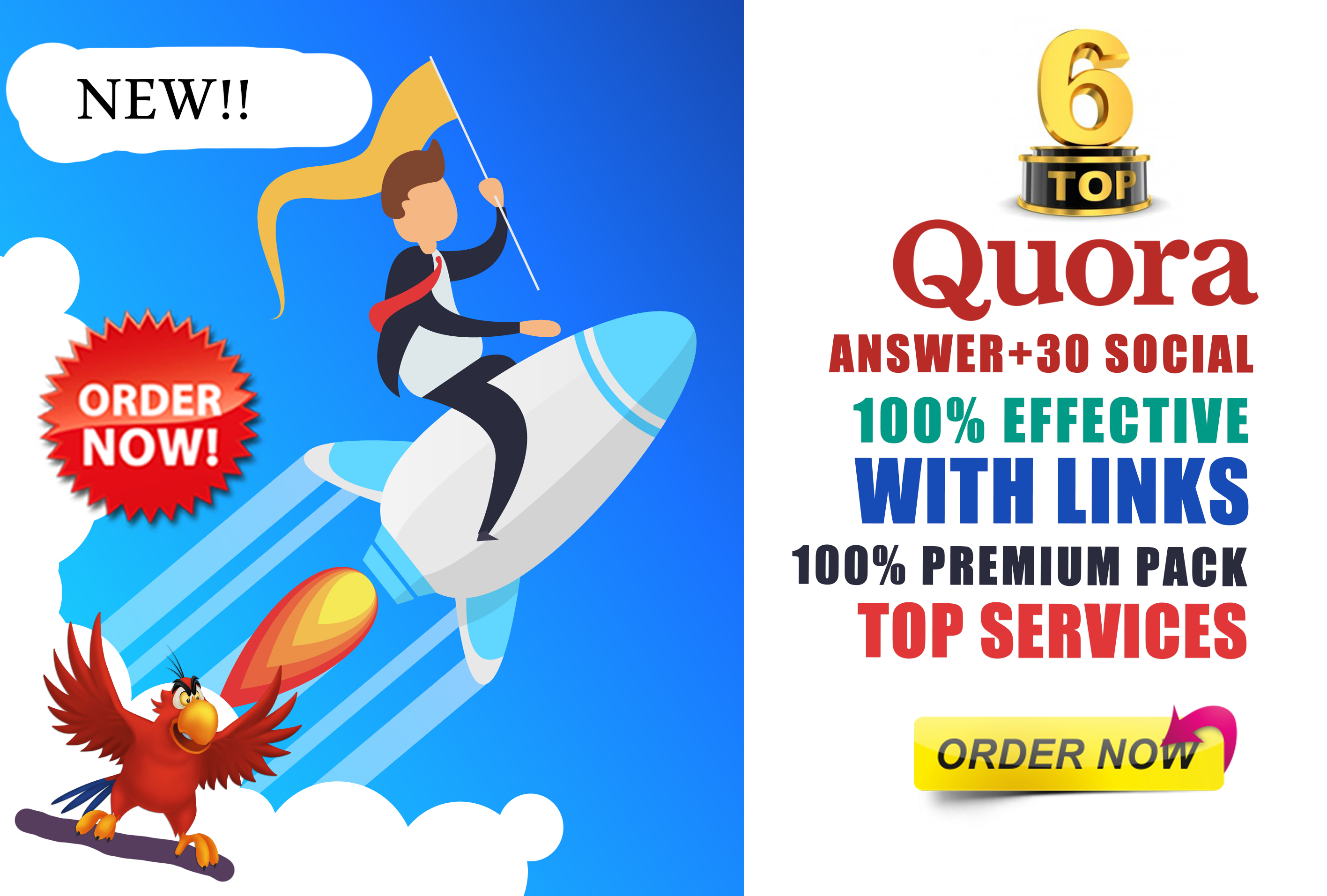 6 Quora Answers with TOP 30 Social Bookmarking SEO Backlinks