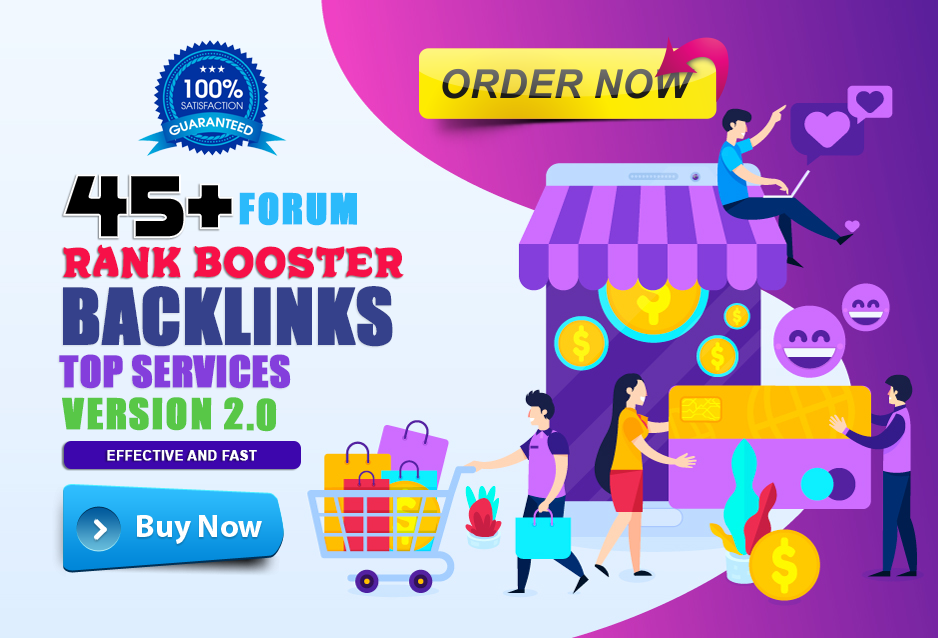 Submit 45+ Unique HQ Forum Posting SEO Backlinks For Rank