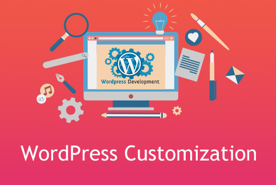 I can do any wordpress theme customization for entire site