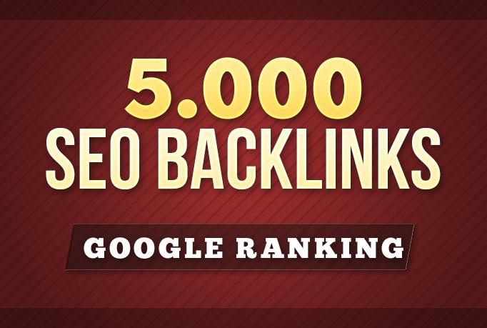 do 5000 plus tiered contextual seo backlinks