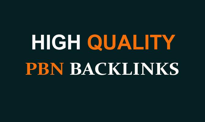 2200 PBN Backlinks on High Quality Domains Dofollow Backlinks