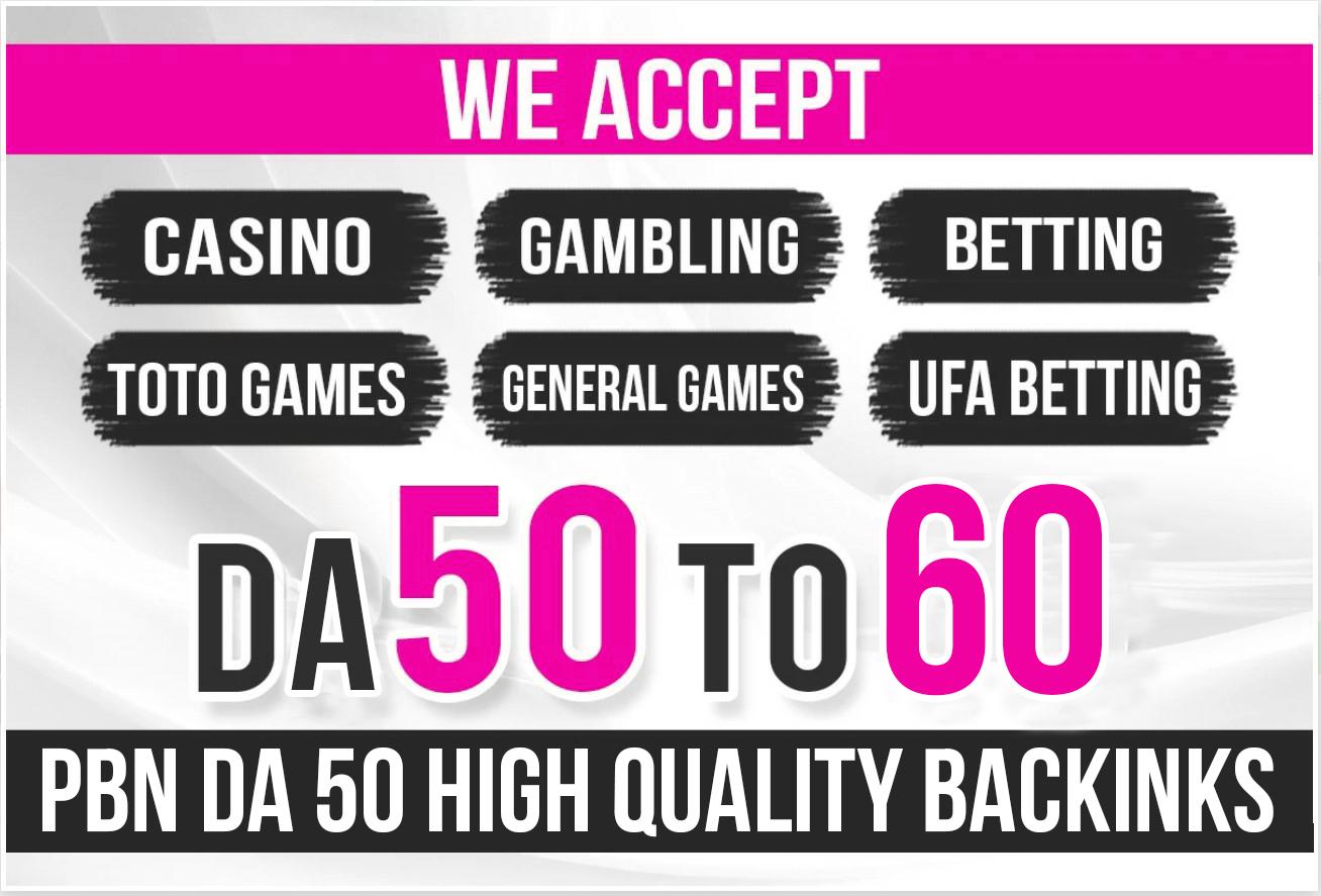 PowerFull 700 Top Quality PBN DA 50 Gambling Poker Casino Gaming Backlinks