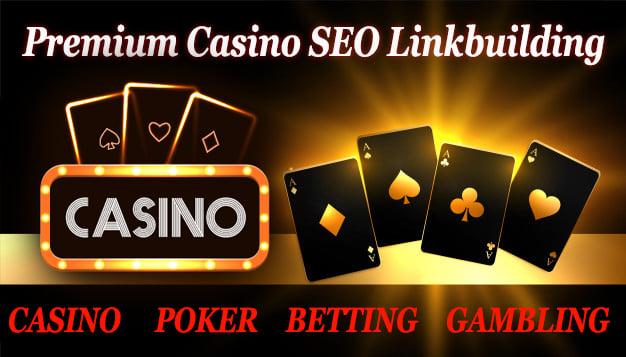 Ranked your website on google 1st using 250 white hat SEO backlinks poker casino gambling betting