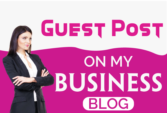 Guest Post on my Business Blog