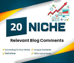 I will post 20 relevant niche blog themed comments