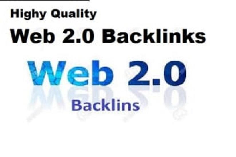 I will do 20 high qaulity web 2 0 contexual backlinks