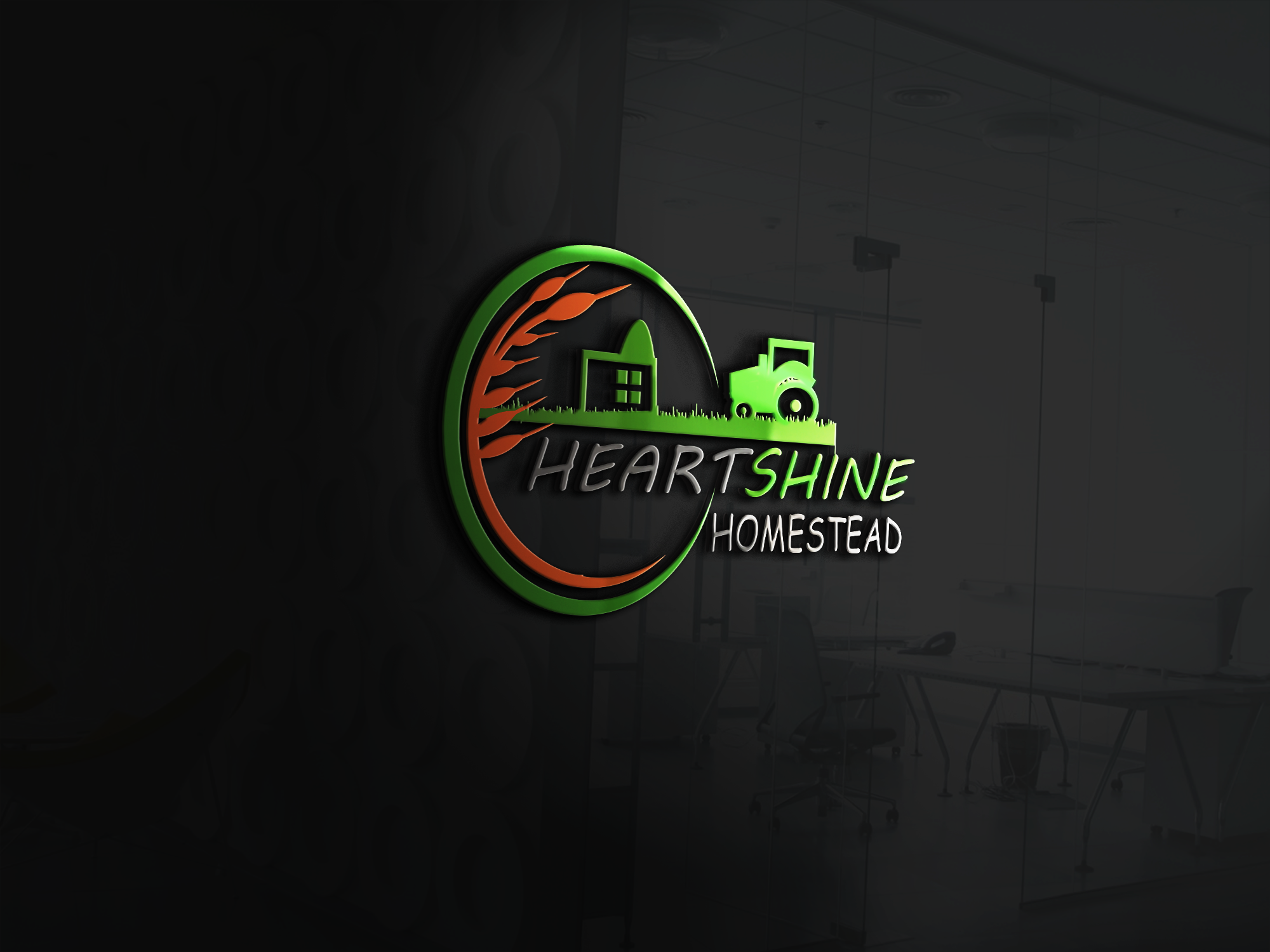 I will design creative flat Minimalist logo with Unlimited revision
