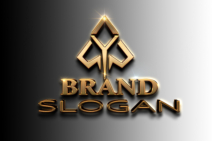 i will do 3D luxury logo just in 24 Hours