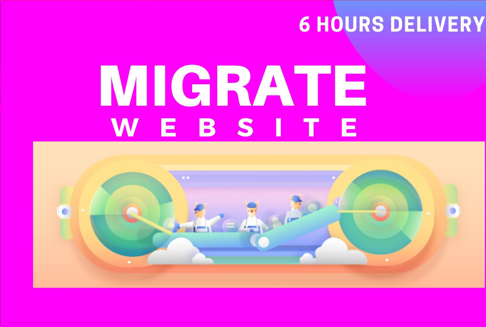 I will migrate,  move or transfer your wordpress website within 6 hours