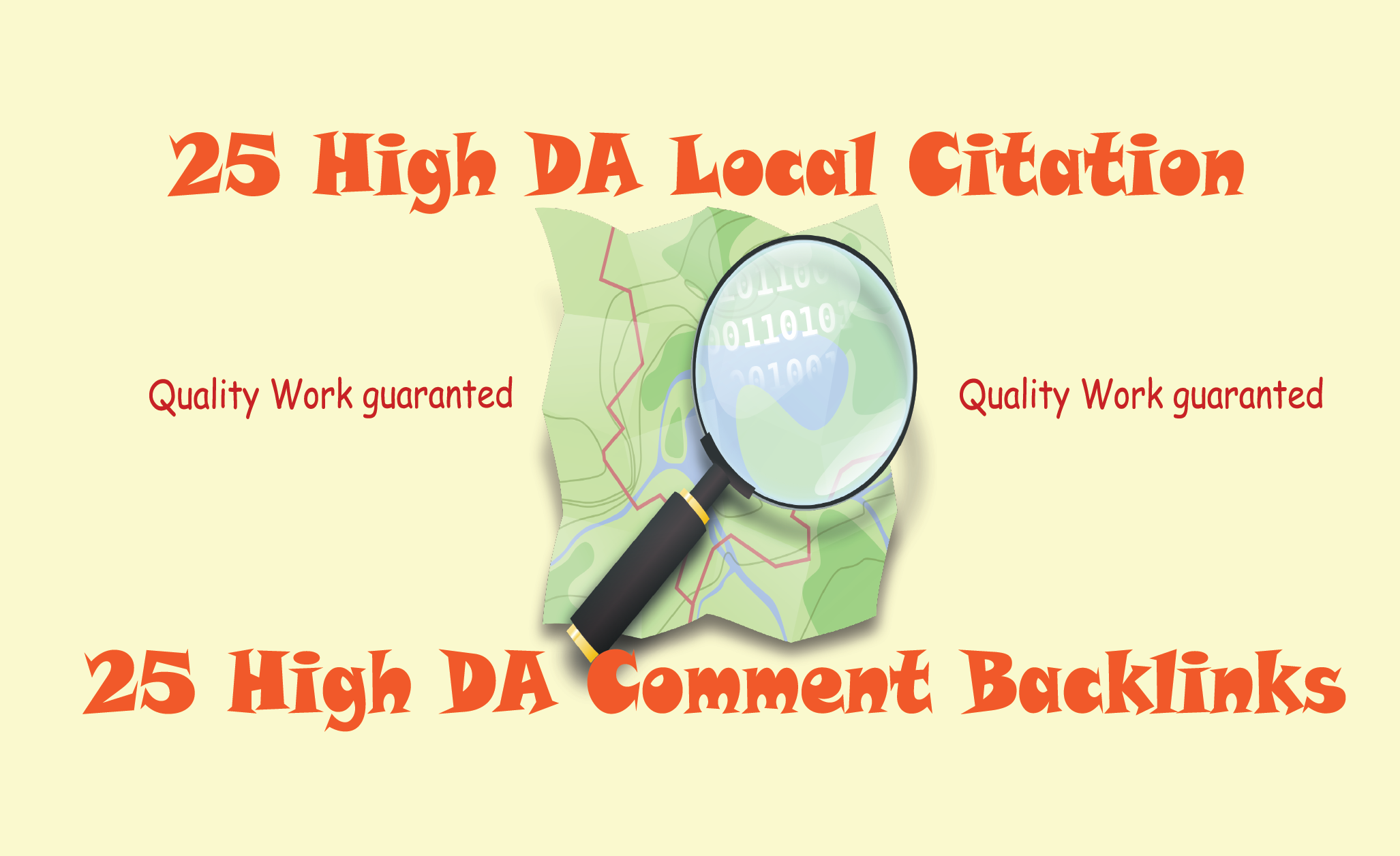 I will do 25 High DA Local Citation/Backlinks for any country