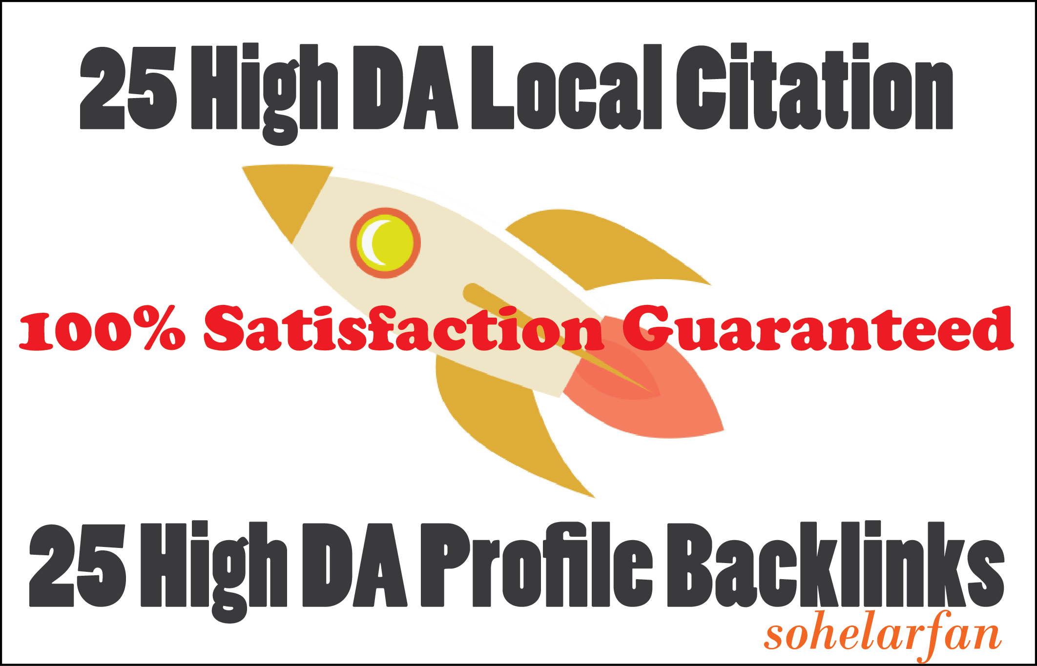 25 High DA Local Citation and 25 High DA Profile Backlinks only 5 Dollars for any country