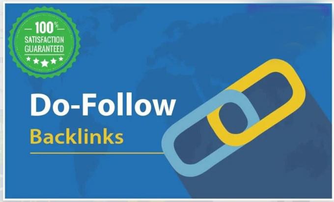 Do 100 manual high authority dofollow backlinks
