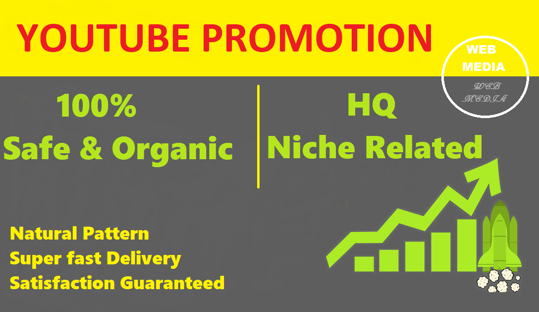 Best organic YouTube Music Video Promotion by Sharing