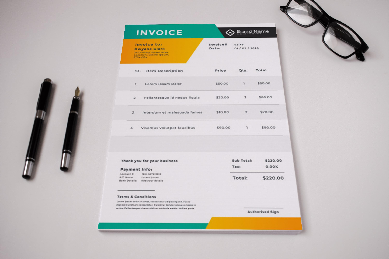 do urgent auto calculated invoice design