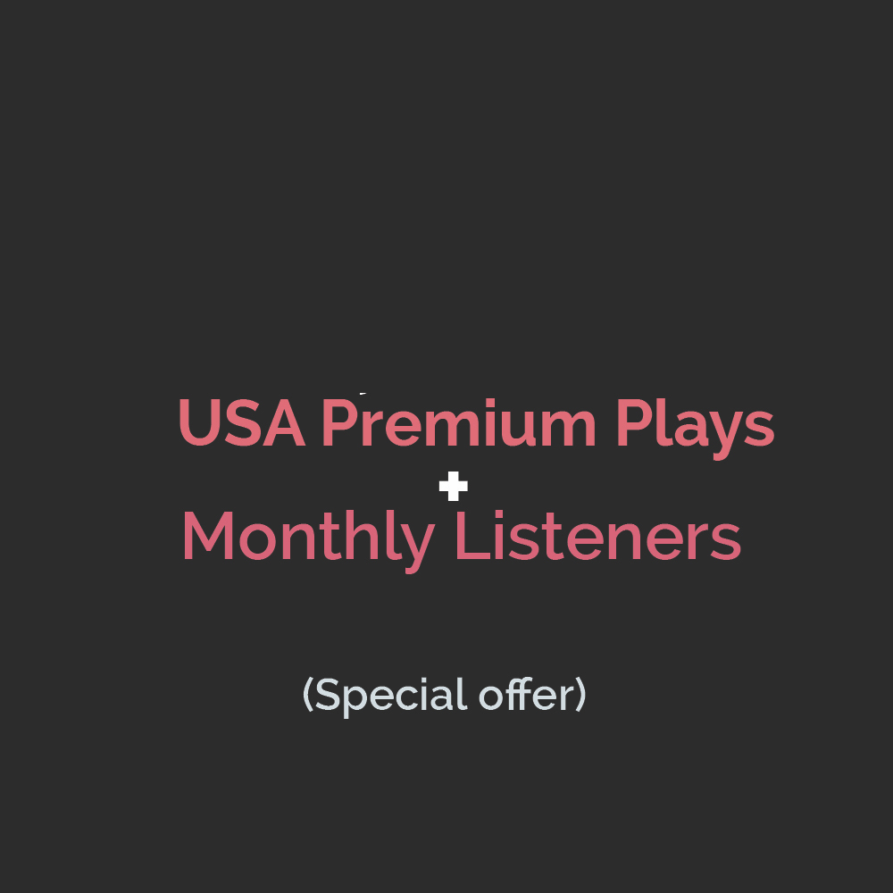 USA Premium Streams + Monthly Listeners Royalty Eligible