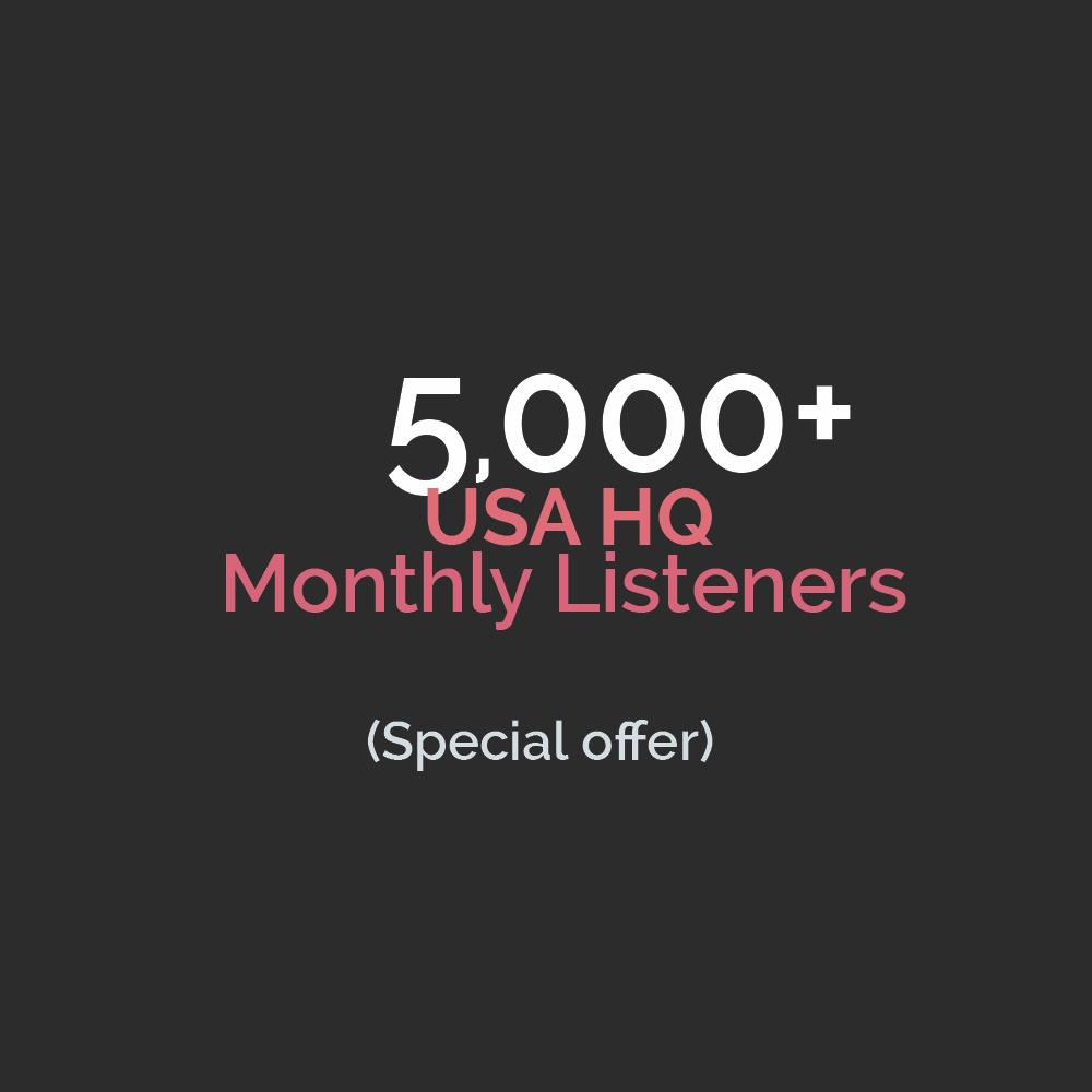 USA PREMIUM Monthly Listeners HQ Accounts (Read Description)