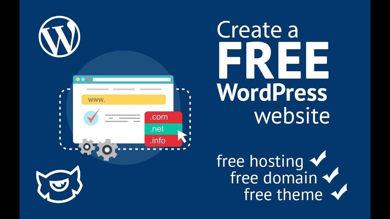 Create one page WordPress website