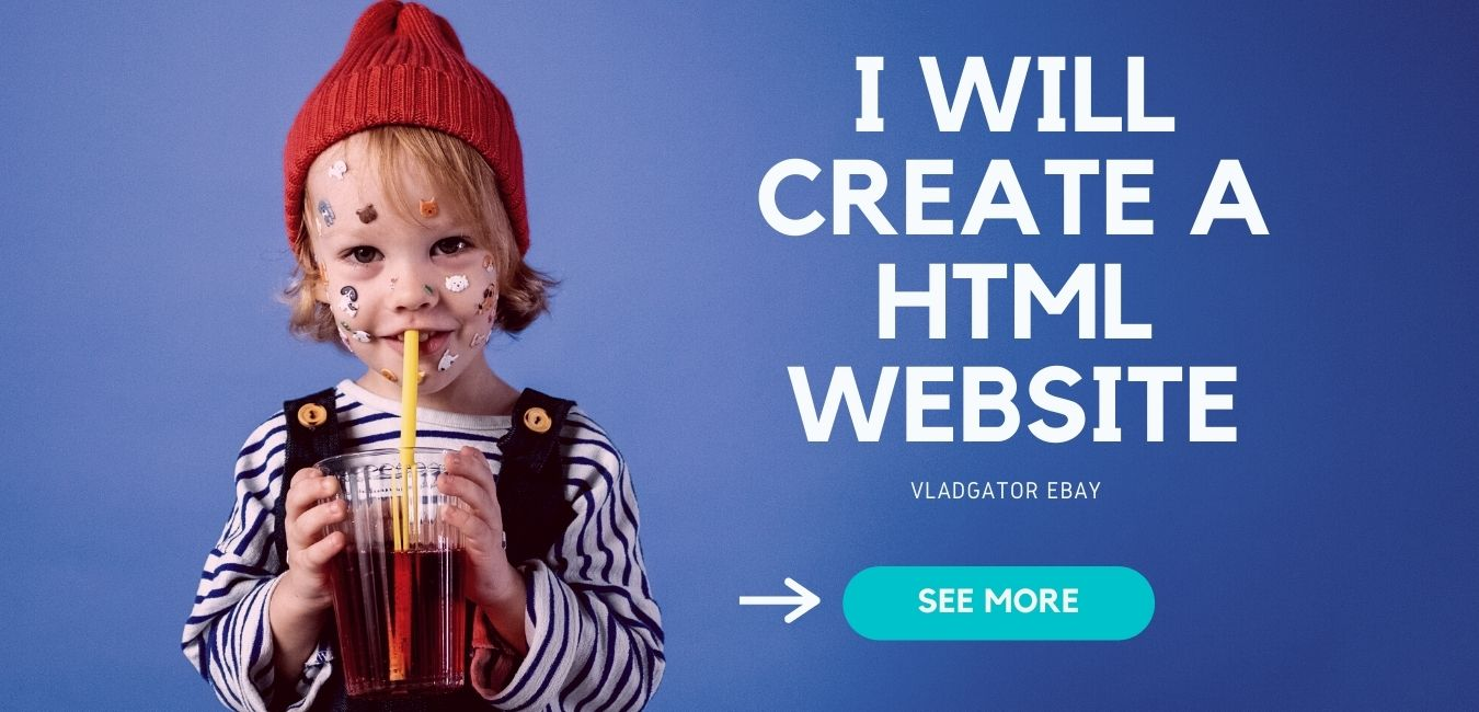 build simple professional HTML website one or multi page