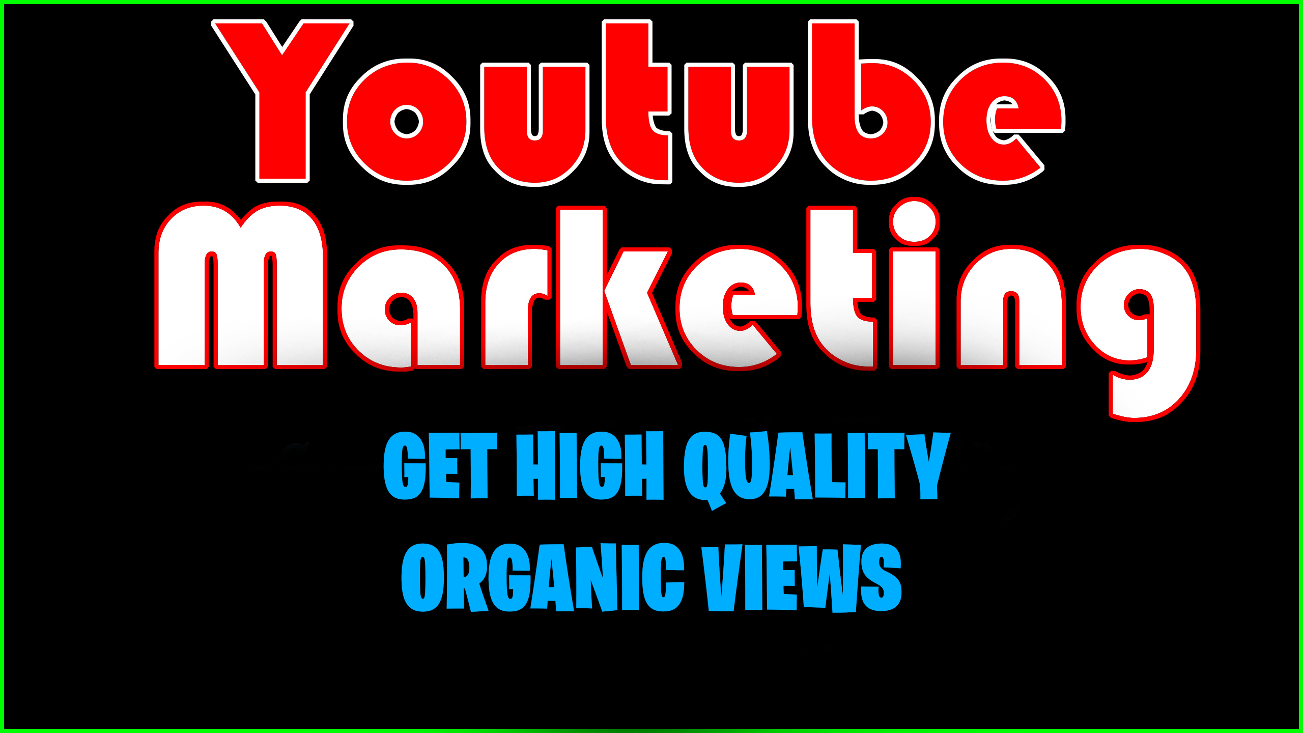 Organic Youtube Marketing For Ranking Your Videos