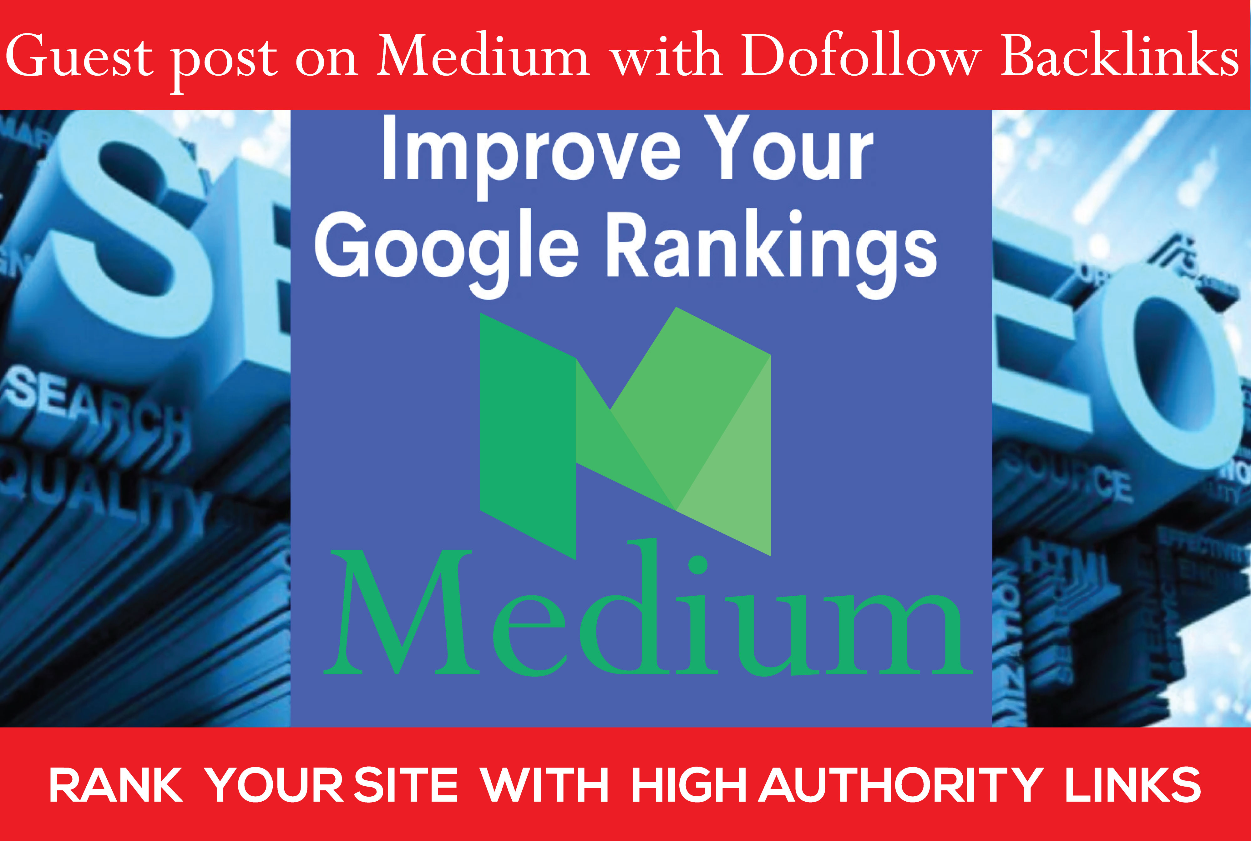 Write and Publish a Guest post on Medium - Build your SEO Rank