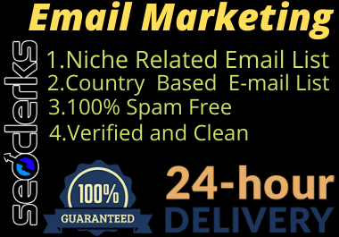 I will create your targeted audience email list
